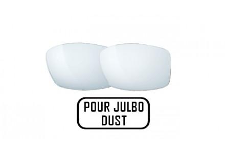 Lunettes de soleil mixte JULBO Noir Verres Blancs pour Julbo DUST
