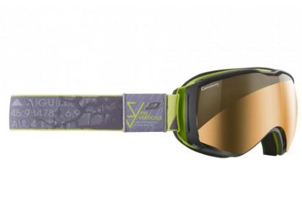 Masque de ski mixte JULBO Gris VERTICALS gris / vert CAMELEON