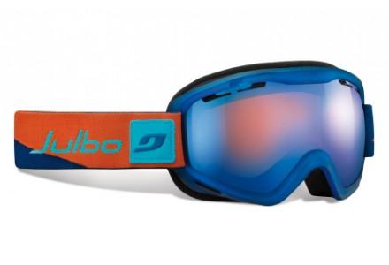 Masque de ski mixte JULBO Bleu VOYAGER DLX BLeu / Orange Spectron 3+