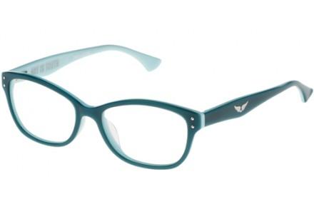 Lunettes de vue pour femme ZADIG ET VOLTAIRE Bleu VZV 015 0D88 52/16