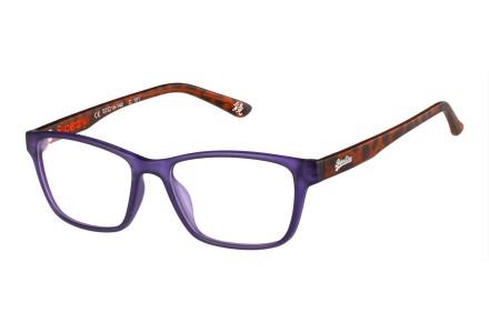 Lunettes de vue mixte SUPERDRY Violet YUMI 161 52/16