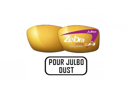 Lunettes de soleil mixte JULBO Noir Verres ZEBRA pour Julbo DUST