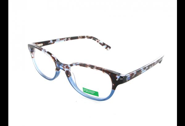 lunettes de vue pour femme BENETTON Marron BN 196 MARRON 51/18 OVALE