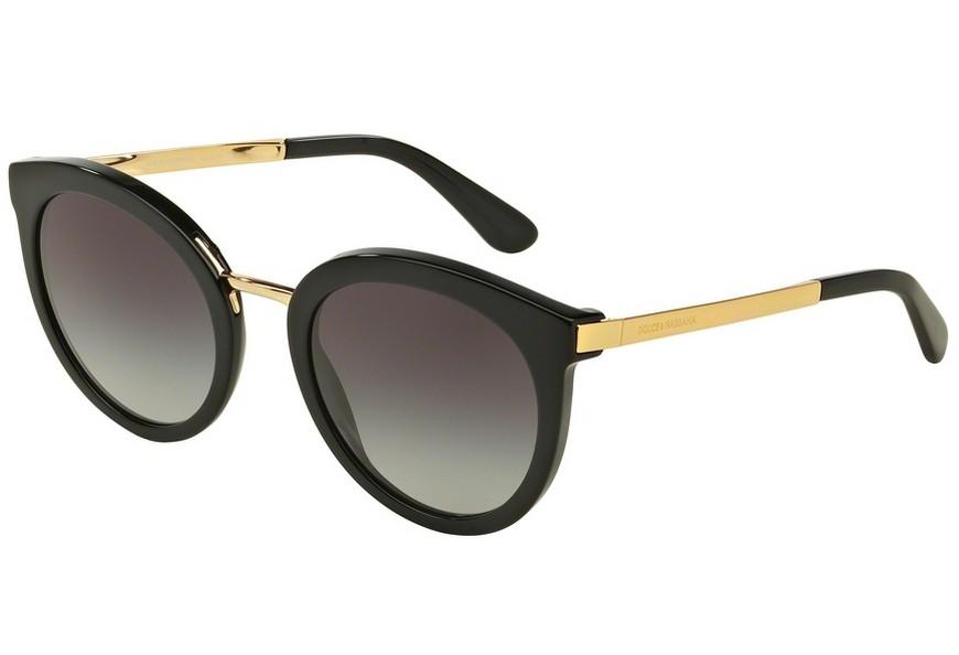 lunettes de soleil dolce gabbana dg 4268 501 8g 52 22. Black Bedroom Furniture Sets. Home Design Ideas