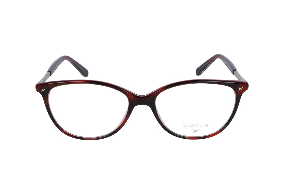 lunettes de vue mauboussin mau 1616 rouge 53 16. Black Bedroom Furniture Sets. Home Design Ideas