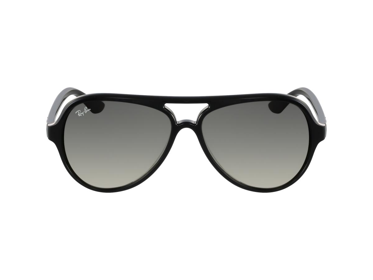 Lunettes de soleil mixte RAY BAN Noir RB 4125 CATS 5000 601 32-59. Essayage  3D en ligne 8636aa66958f