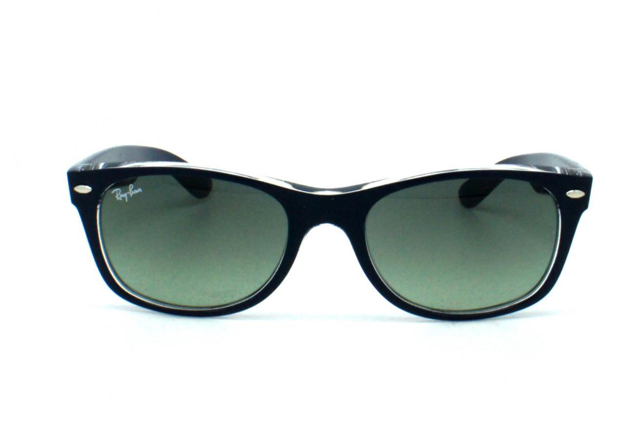 lunettes de soleil ray ban rb 2132 new wayfarer 605371 55 18. Black Bedroom Furniture Sets. Home Design Ideas