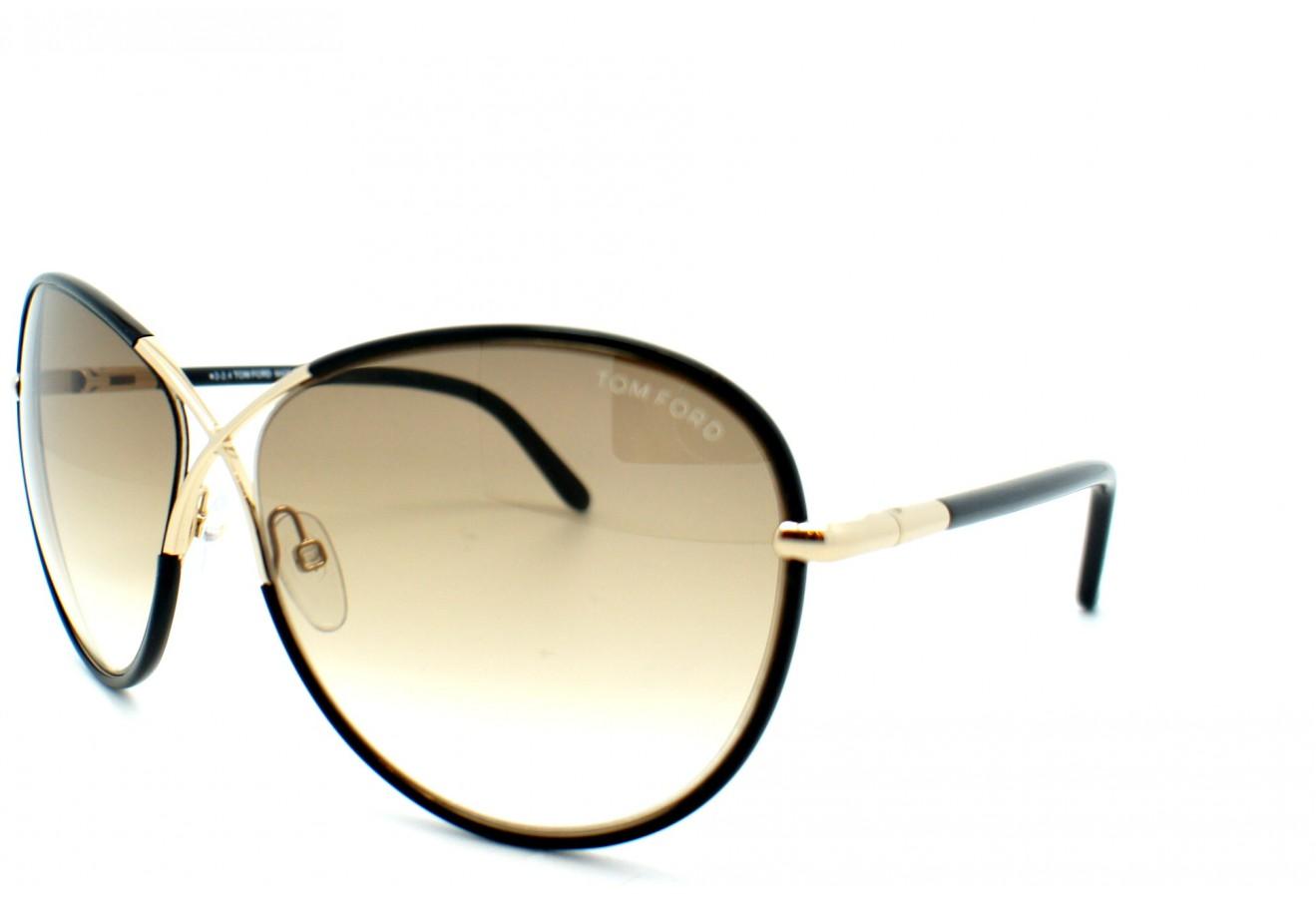 lunettes de soleil tom ford tf 0344 01b 62 13 rosie. Black Bedroom Furniture Sets. Home Design Ideas