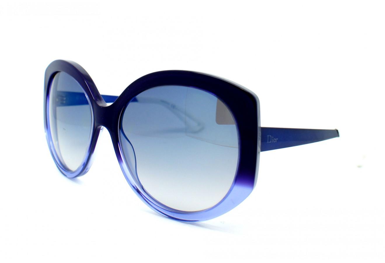 Lunettes de soleil bleues femme H6JOvB