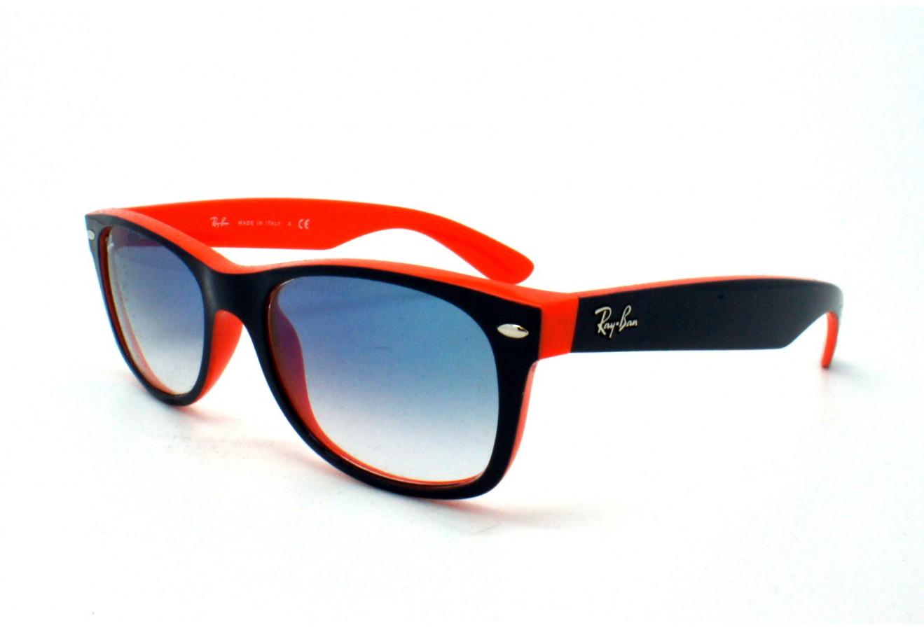 ray ban rb2132 bleu orange