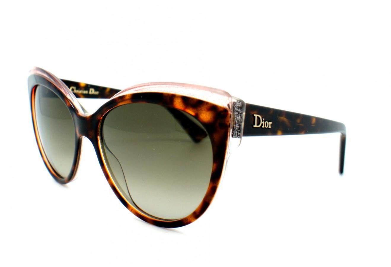 lunettes de soleil dior dior glisten 1 e59 ha 56 16. Black Bedroom Furniture Sets. Home Design Ideas