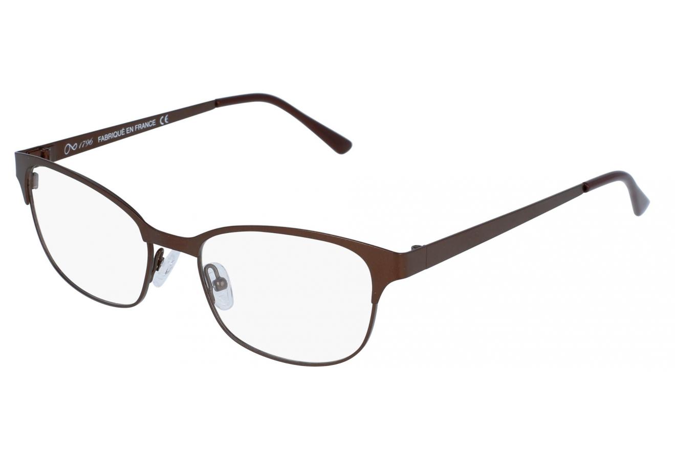 lunettes de vue 1796 cbfm 1703 brun 50 18. Black Bedroom Furniture Sets. Home Design Ideas