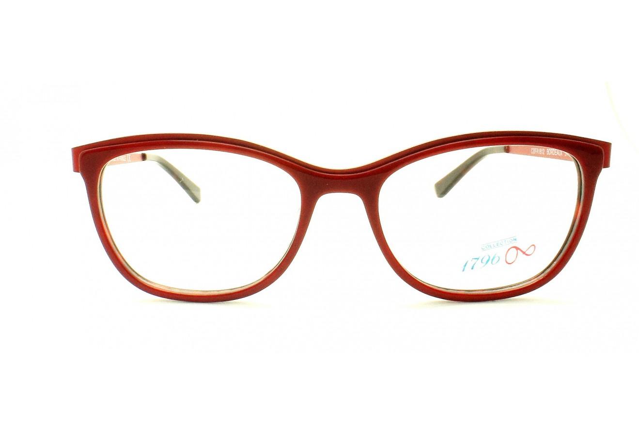 lunettes de vue 1796 cbfa 1812 bordeaux 51 17. Black Bedroom Furniture Sets. Home Design Ideas
