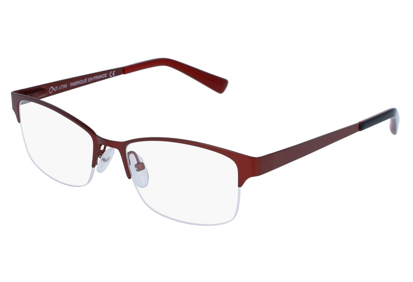 lunettes de vue 1796 cbfm 1709 bordeaux 52 17. Black Bedroom Furniture Sets. Home Design Ideas