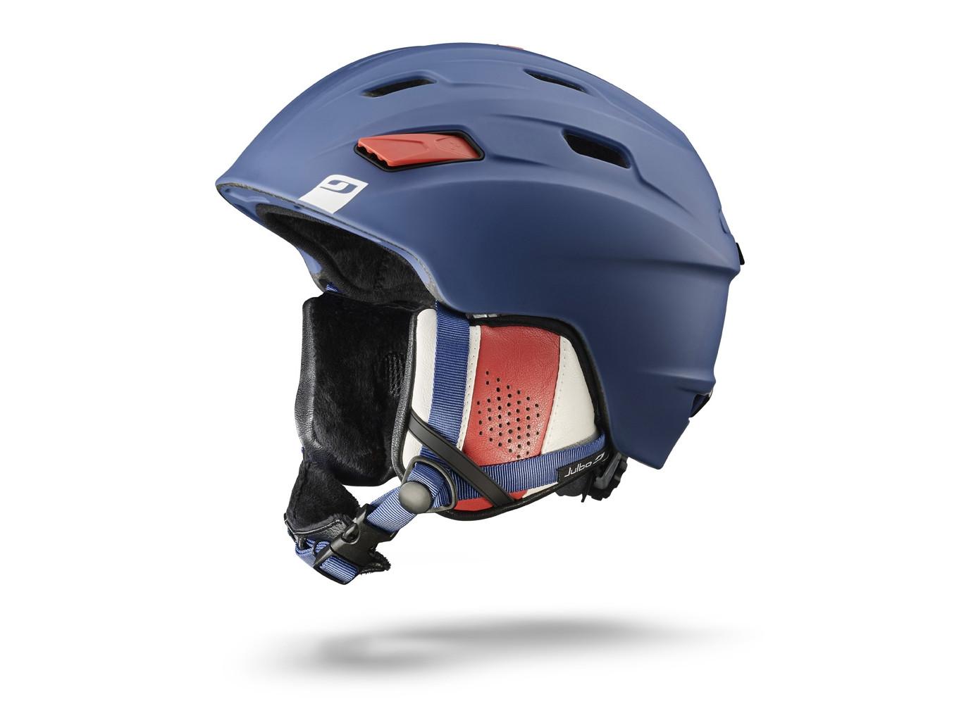 6df78e71cb4f75 Casque de ski mixte JULBO Bleu MISSION Bleu   Blanc   Rouge 58 60