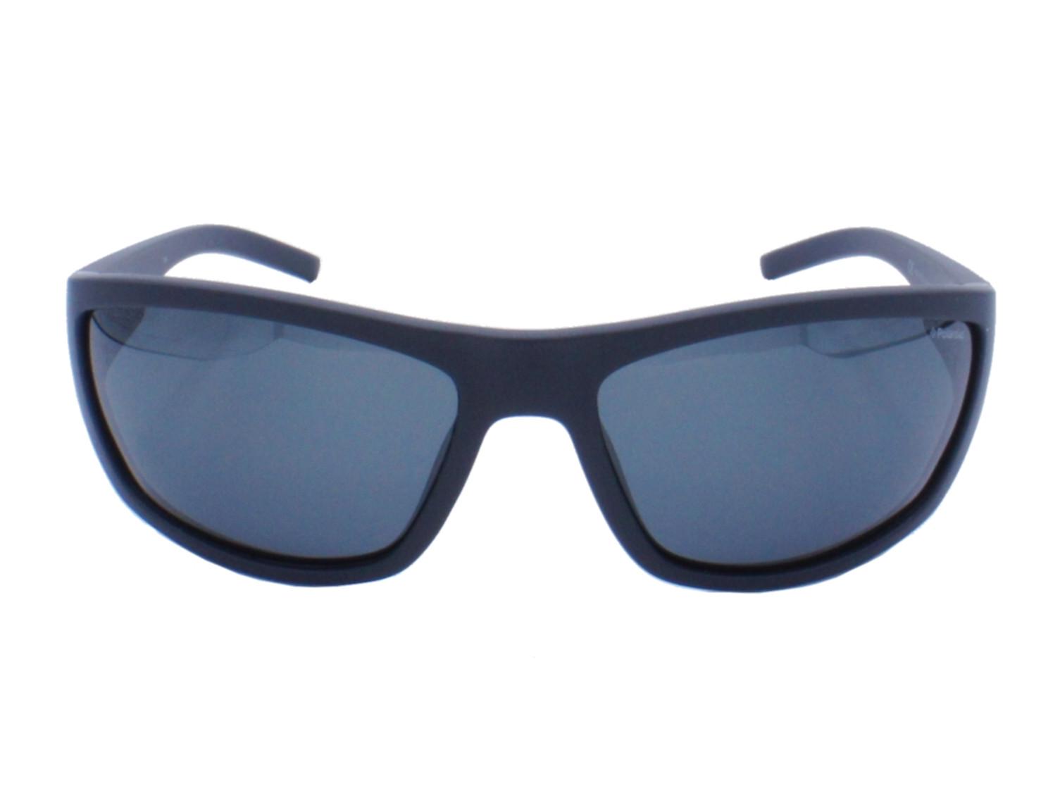 Lunettes de soleil pour homme POLAROID Noir Mat PLD 7007 S DL5 63 17.   Couleurs. Bleu 4fa4b29dd035