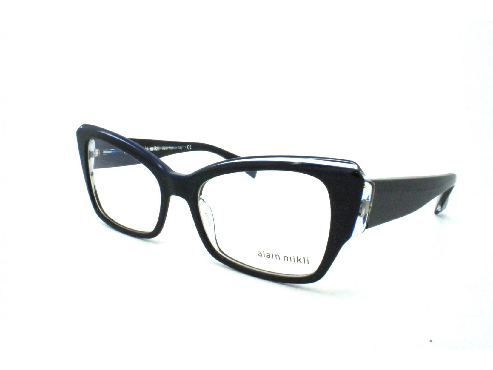 6025e85aae5cc Lunettes de vue pour femme ALAIN MIKLI Noir AO 3036 B012 52 17