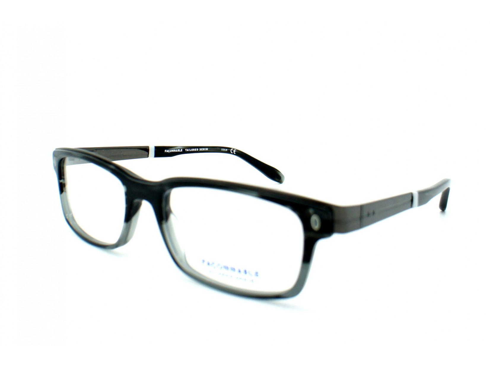 Lunettes de vue pour homme FACONNABLE Noir FJ 905 173 52 18 c0da9f0577ee