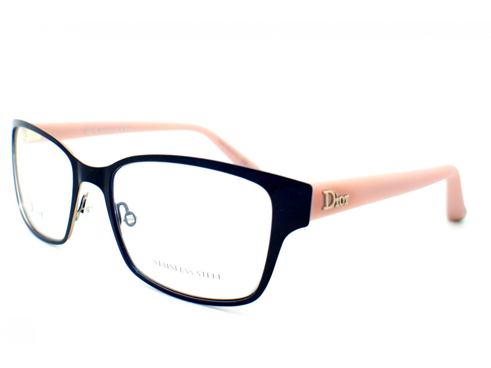 f1b8202265a1b8 Lunettes de vue pour femme DIOR Bleu CD 3774 3JF 53 17