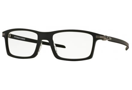 Lunettes de vue pour homme OAKLEY Noir OX 8092 01 PITCHMAN CARBON 55/18