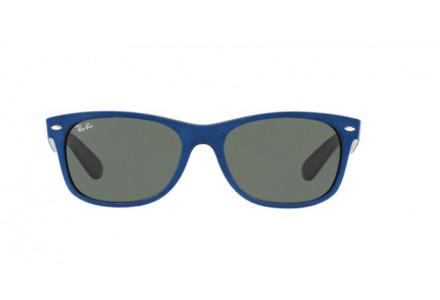 Lunettes de soleil pour homme RAY BAN Bleu RB 2132 NEW WAYFARER 6239 55/18
