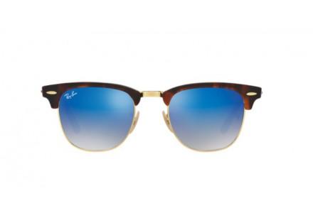 Lunettes de soleil pour homme RAY BAN Ecaille RB 3016 CLUBMASTER 990/7Q 51/21
