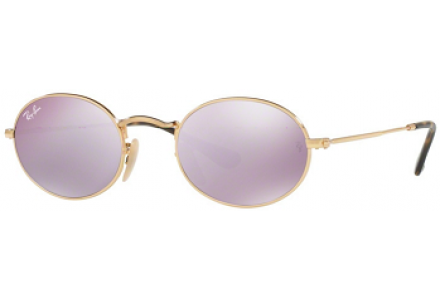 Lunettes de soleil mixte RAY BAN Or RB 3547N 001/8O 51/21