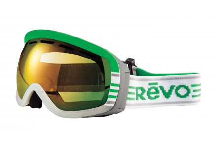 Masque de ski mixte REVO Vert 35-7001 Col 09PGN