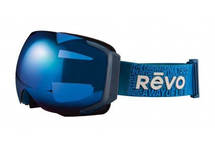 Masque de ski mixte REVO Bleu 35-7008 col 05PBL