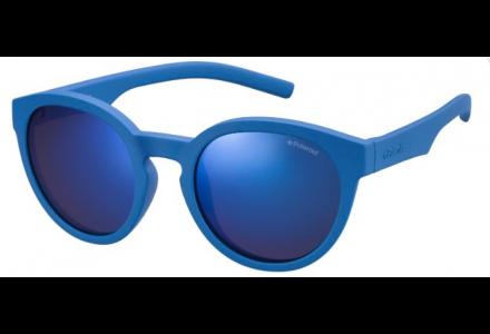 Lunettes de soleil pour enfant POLAROID Bleu PLD 8019/S ZDI (JY) 45/19