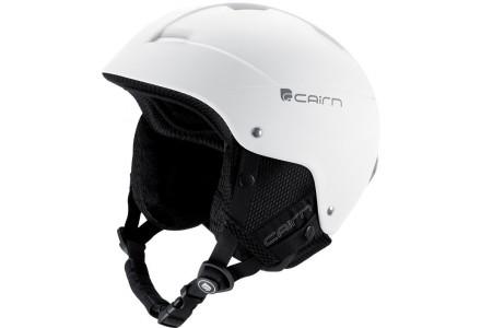 Casque de ski pour enfant CAIRN Blanc ANDROID J Blanc mat 54/56