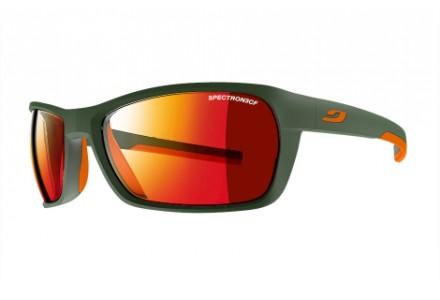 Lunettes de soleil mixte JULBO Vert Blast Army / Orange - Spectron 3 CF