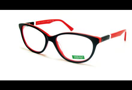 Lunettes de vue pour femme BENETTON Noir BN 399 NOIR/01 55/16