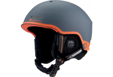 Casque de ski mixte CAIRN Orange CENTAURE Graphite Mat Orange 54/56