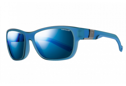 Lunettes de soleil mixte JULBO Bleu Coast Bleu translucide / Bleu Polarized 3 +