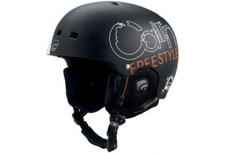 Casque de ski pour enfant CAIRN Noir DARWIN J Noir Freestyle 49/50
