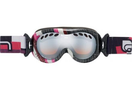 Masque de ski pour enfant CAIRN Noir DROP Sideways Noir/Rose SPX 3000