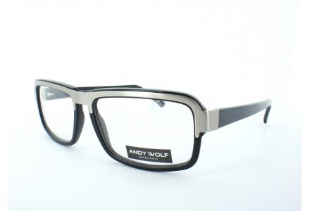 Lunettes de vue pour homme ANDY WOLF Noir AW 4428 COL A 58/17
