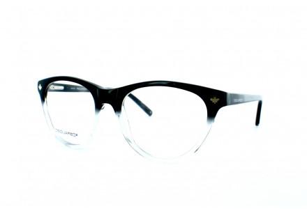 Lunettes de vue pour femme DSQUARED² Noir Blanc DQ 5107 005 52/16