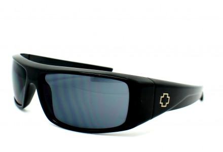 Lunettes de soleil mixte SPY Noir LOGAN SHINY BLACK - 60/12