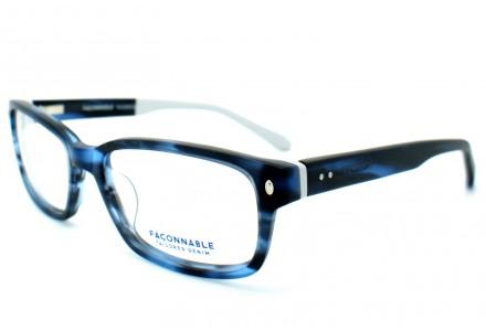 Lunettes de vue pour homme FACONNABLE Bleu FJ 917 520 52/17