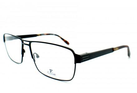 Lunettes de vue pour homme FACONNABLE Noir FP 2240 NO01 58/16