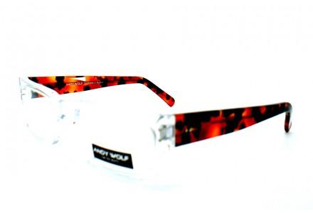 Lunettes de vue mixte ANDY WOLF Cristal AW 4400 COL D 51/18