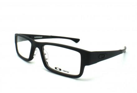Lunettes de vue pour homme OAKLEY Noir OX 8046-01 AIRDROP 51/18