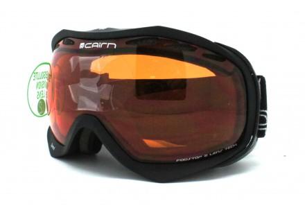 Masque de ski mixte CAIRN Noir Mat SPEED Noir Mat SPX 2000