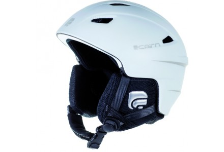 Casque de ski mixte CAIRN Blanc ELECTRON U Blanc Mat 61/62