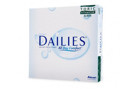 Lentilles ALCON - CIBA VISION Focus Dailies Toric All Day Comfort 90L