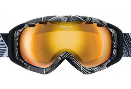 Masque de ski mixte CAIRN Blanc FREEDOM Tekto Blanc Mat/Noir Mat SPX 3000