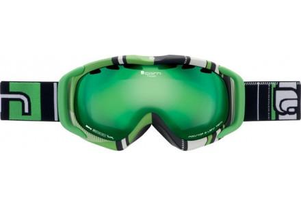 Masque de ski mixte CAIRN Vert FREEDOM Hatching Vert SPX 3000