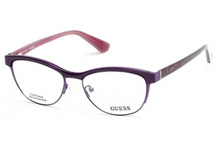Lunettes de vue pour femme GUESS Violet GU 2523 083 52/16